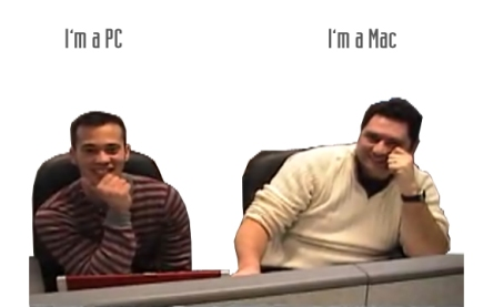 I'm a PC and I'm aMac